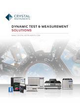 DYNAMIC TEST & MEASUREMENT SOLUTIONS