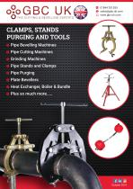 CLAMPS, STANDS PURGING AND TOOLS