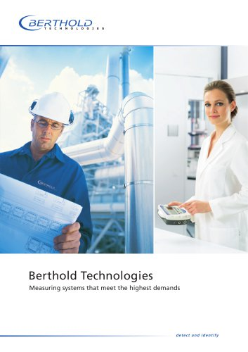 Berthold Technologies - Measuring systems that meet the highest demands