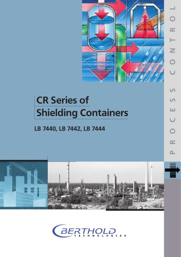 CR Series of Shielding Containers LB 7440,LB7442,LB7444