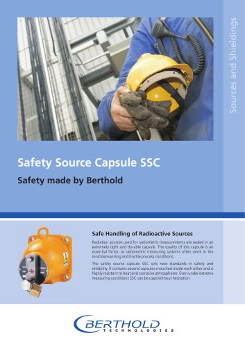 Safety Source Capsule SSC