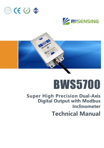 BWSENSING BWS5700