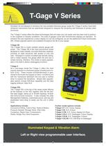 T-Gage V Series Thickness Gauges