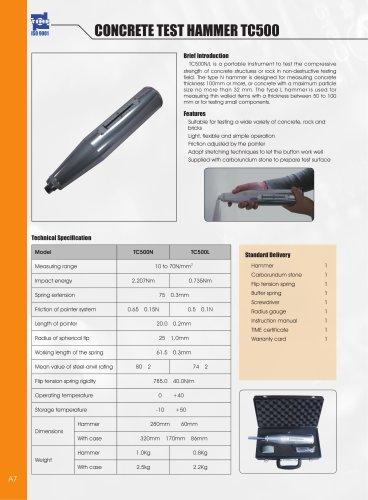Concrete Test Hammer TC500