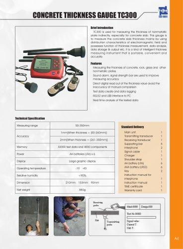 Concrete Thickness Gauge TC300