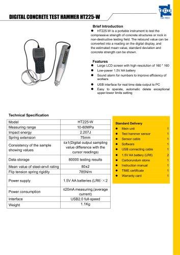 Digital Concrete Test Hammer HT225-W