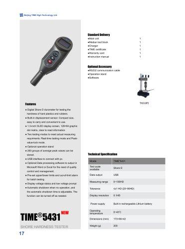 Digital Shore D Hardness Tester TIME5431