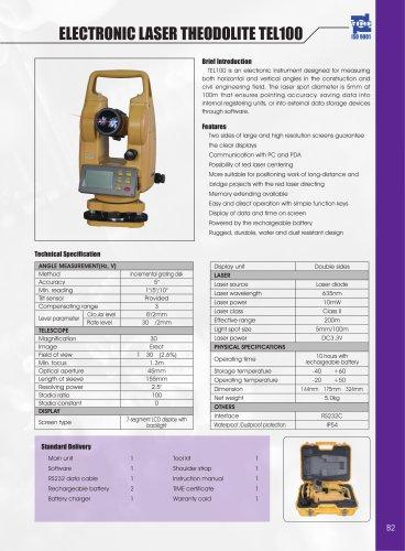 Electronic Laser Theodolite TEL100