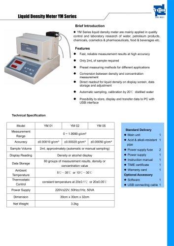 Liquid Density Meter YM Series