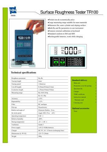 Portable Roughness Tester TR100