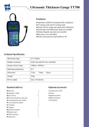 Precision Thickness Gauge TT700