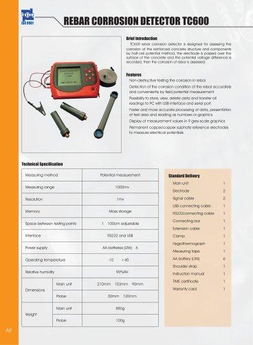 Rebar Corrosion Detector TC600