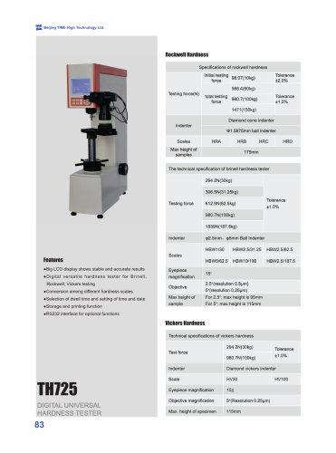 TH725 Digital Universal Hardness Testing Machine