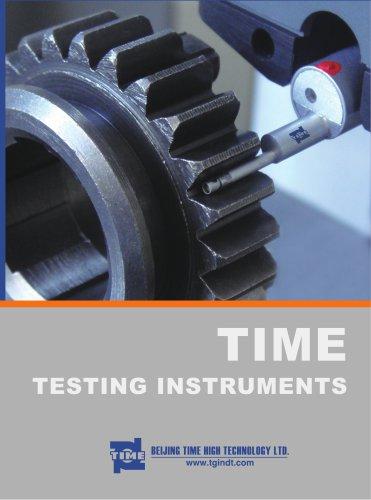 TIME Bench Hardness Tester Catalog