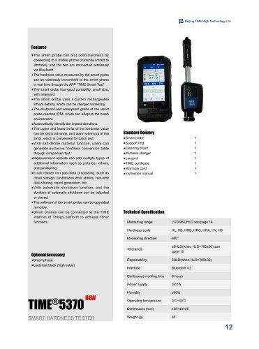 TIME5370 Smart Leeb Hardness Tester