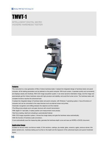 TMVT-1 Intelligent Digital Micro Vickers Hardness Tester