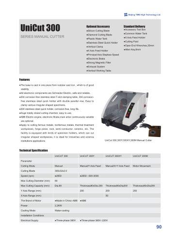 UnitCut 300 Series Manual Cutter