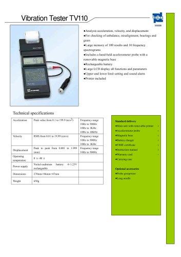 Vibration Tester TV110