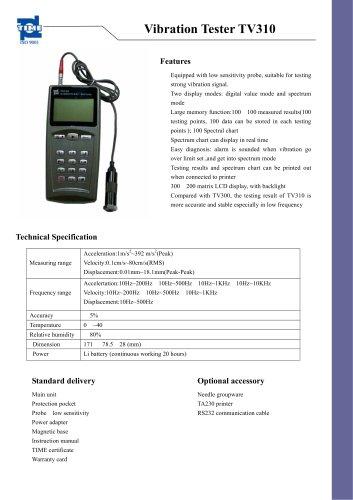 Vibration Tester TV310