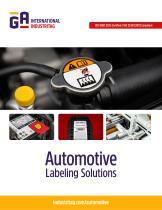 Automotive Labeling Solutions - 1