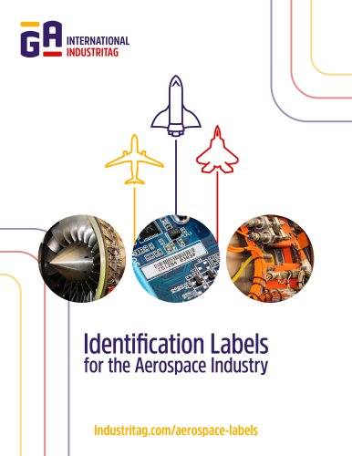 Identification Labels for the Aerospace Industry