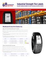 Tire Labels - 1