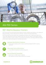 AQ-700 Series - NDT Alkaline Aqueous Cleaners