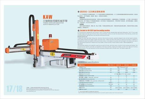 Cartesian robot for 90~320 Ton IMM-SANTSAI MACHINERY