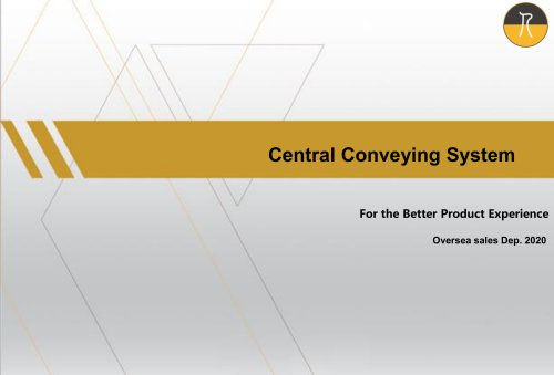 Central Conveying System 2020
