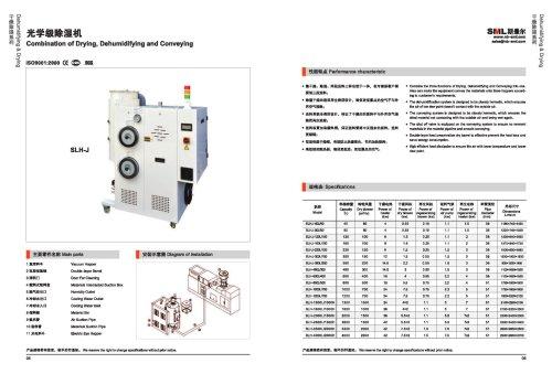 Combination of Drying,Dehumidifying and Conveying-SANTSAI MACHINERY