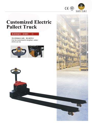 Customized Electric PALLET TRUCK-SantSai Machinery