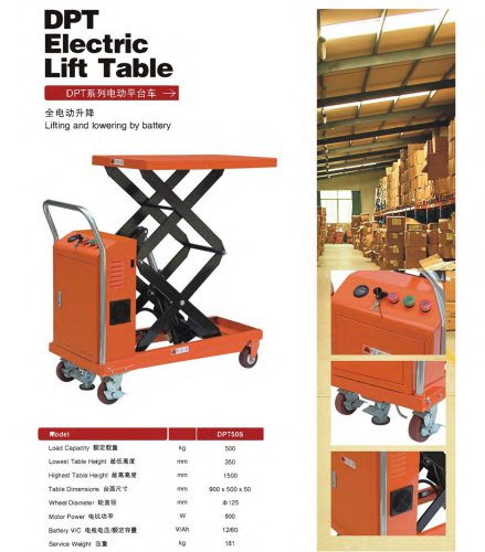 Electric lift Table-SANTSAI MACHINERY