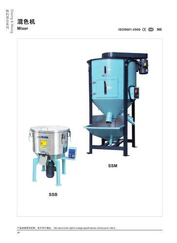 Screw Mixer/Vertical Mixer-Santsai machinery