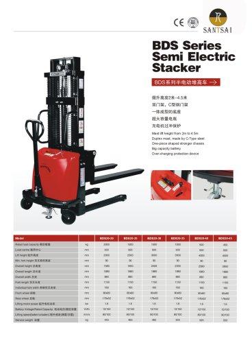 Semi Electric Stacker-SantSai Machinery