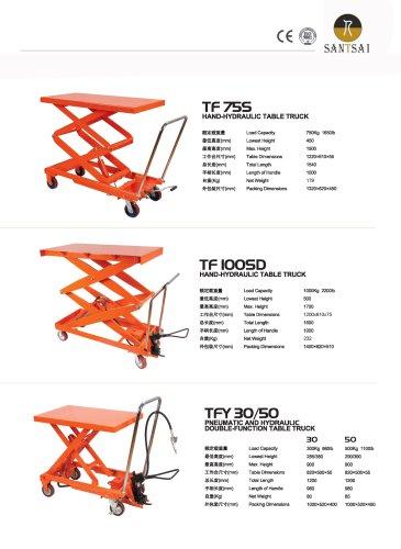 Table truck or Lift table- SANTSAI MACHINERY