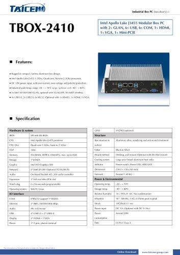 TAICENN/Box computer/TBOX-2410