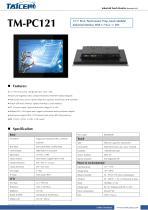 TAICENN/industrial monitor/TM-PC121