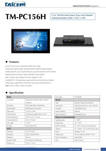 TAICENN/Monitor/TM-PC156H