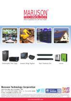 Maruson Catalog (120V UPS/AVR/Inverter)