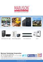 Maruson Catalog (220V UPS/AVR/Inverter)