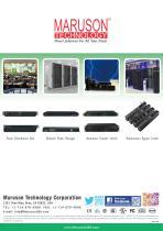 Maruson PDU/NPM/ATS/MBS Catalog
