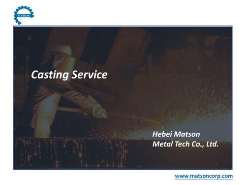 Casting Service-Matson