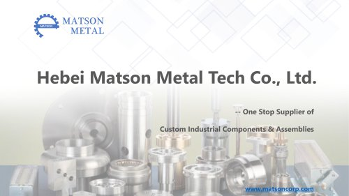 Matson Metal Presentation