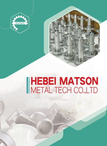 Matson Metal profile catalog