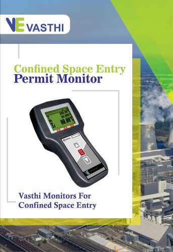 Confined Space Entry Permit Monitor