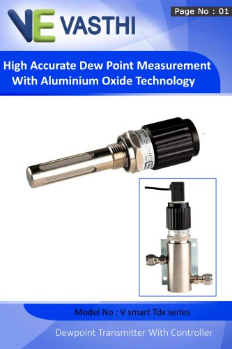 High Accurate Dew Point Measurement With Aluminium Oxide Technology