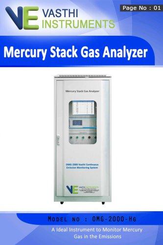 Mercury Stack Gas Analyzer