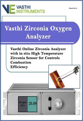 Vasthi Zirconia Oxygen Analyzer