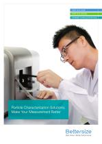 Particle Characterization Solutions: Make Your Measurement Better