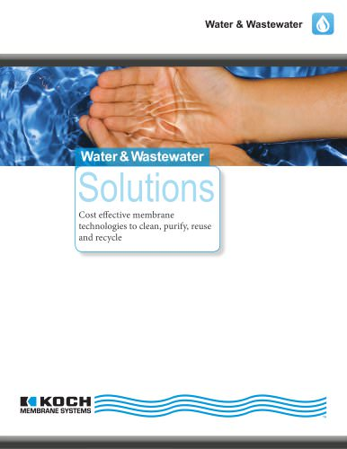 Water & Wastewater Solutions